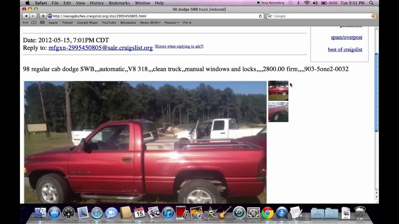 Craigslist Nacogdoches Deep East Texas Used Cars And
