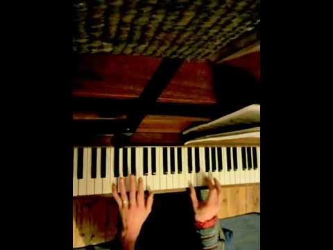 Playing Simple Chords To Mercedes Benz On Piano 2 Youtube