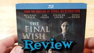 The Final Wish Blu-Ray Unboxing And Review - Horror