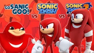 Race Against Knuckles: Ugandan Knuckles vs Boom Knuckles & Knuckles: Which is Better?