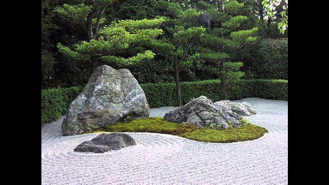 Garden Stone Design Ideas   YouTube