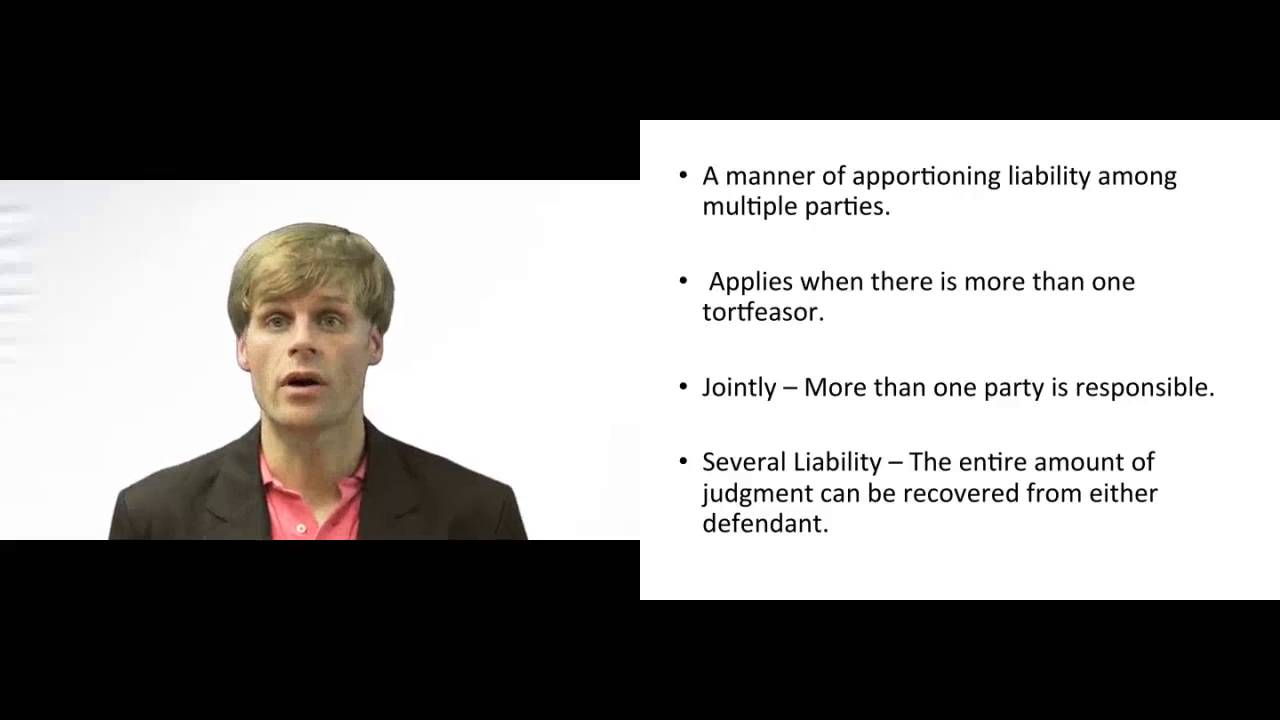 What is joint and several liability 51