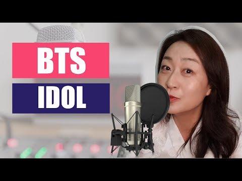 BTS -IDOL / Sub.Español+Cover+Pronunciación+Reacción (KPOP)
