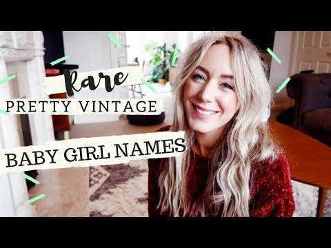 Rare, Pretty Vintage Girl Names You Don't Hear Anymore | SJ STRUM