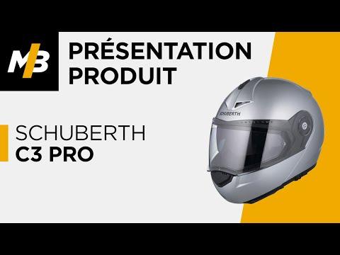 SCHUBERTH C3 PRO avis du casque moto en vidéo - MBZ