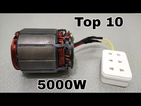 Top 10 Diy Generator in the World Using Copper Wire New 💯.