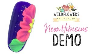 Neon Hibiscus