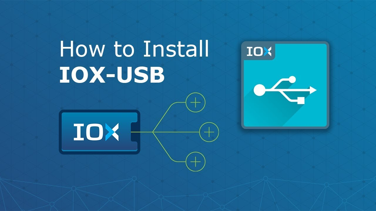 How to Install Geotab IOX USB