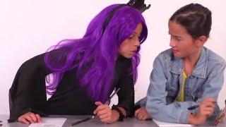 Malice at Princess School! - Princesses In Real Life | Kiddyzuzaa