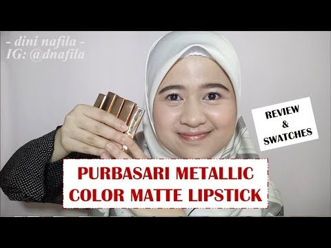 [swatches-&-review]-]-purbasari-metallic-color-matte-lipstick