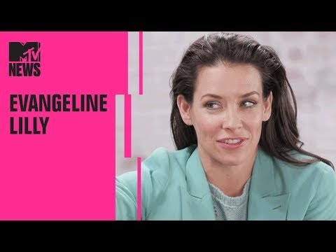 Evangeline Lilly on 'Ant-Man and the Wasp', 'Avengers 4' & Female Superheros | MTV News