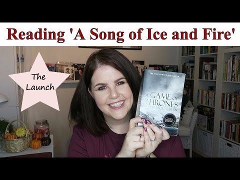 Reading 'A Song of Ice and Fire' - The Launch and Schedule