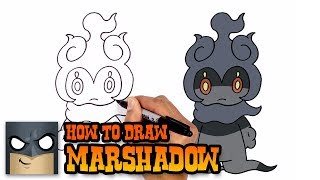How to Draw Marshadow | Pokemon (Art Tutorial)