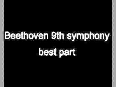Beethoven 9th symphony best part