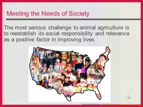 Dr. Lonnie King - Future of Animal Agriculture