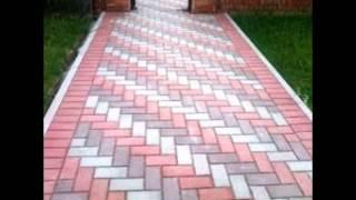 Варианты укладки тротуарной плитки.(Это видео создано в редакторе слайд-шоу YouTube: http://www.youtube.com/upload., 2016-03-16T08:54:22.000Z)
