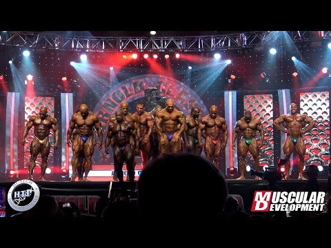 2020 Arnold Classic - Final Comparison Open Bodybuilding And Pose Down