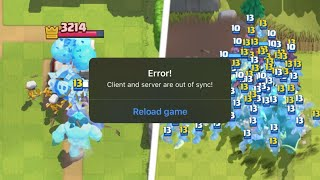 Clash Royale actually BROKE because of these glitches...