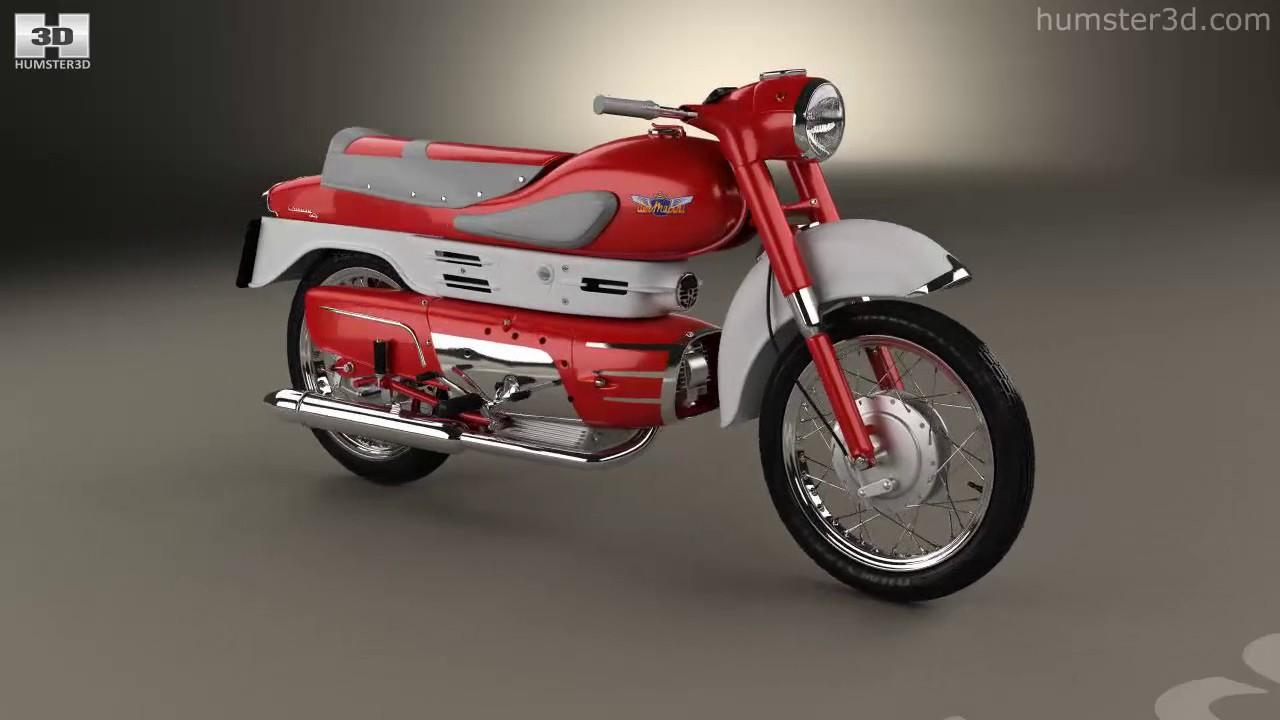 Aermacchi Chimera 1957 3D model by Hum3D com