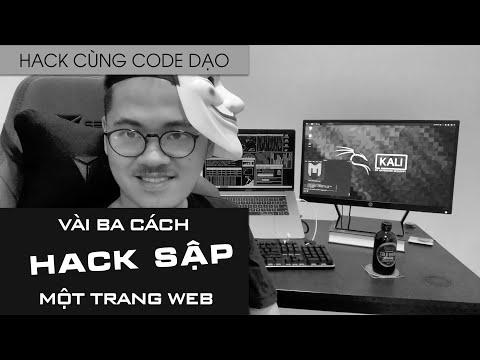 cách hack trang web nhà trường sửa điểm - Dăm ba cách HACK SẬP một trang web - Hack cùng Code Dạo