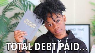 I PAID OFF 13K of DEBT & 2019 GOALS | Debt Journey Update