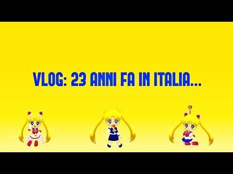 MINI VLOG: 23 ANNI FA IN ITALIA...... | SAILORMOONFANS