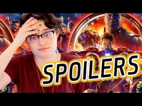 Scrivener Talks Infinity War (2018) SPOILERS!!!