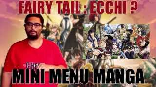 MINI MENU MANGA - FAIRY TAIL : ECCHI ???