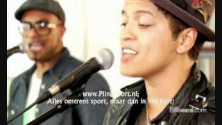 HQ Bruno Mars - Lazy Song Live