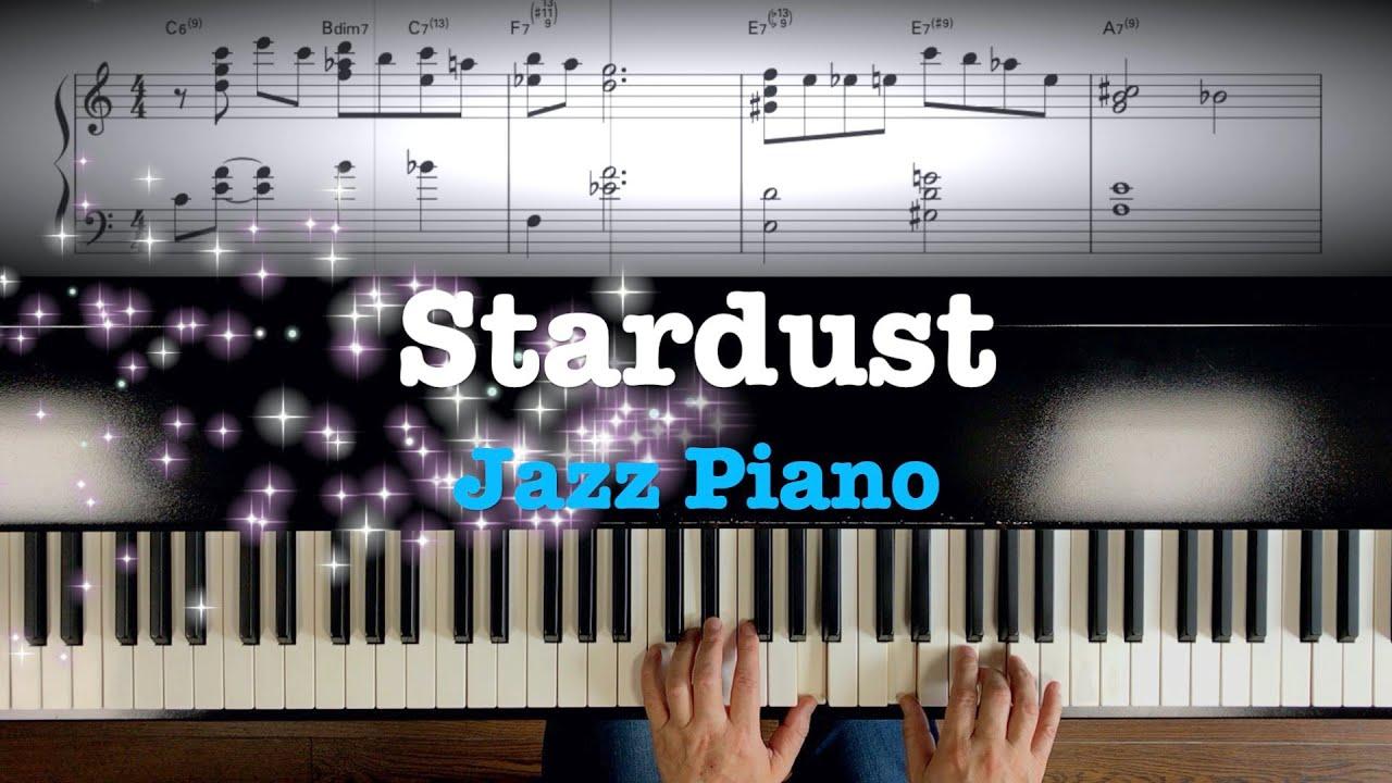 """Jazz Piano """"Stardust"""" Sheet music"""