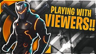 Playing With Viewers On Xbox One | 1300+ Wins | 28000+ Kills | Fortnite Battle Royale Live