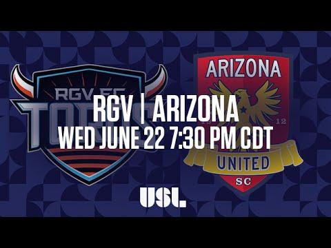 WATCH LIVE: Rio Grande Valley FC vs Arizona United SC 6-22-16