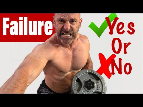 Should You Train To Failure To Build Muscle?