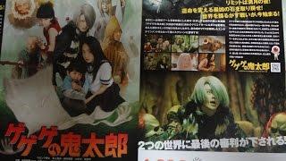 ゲゲゲの鬼太郎 (B) (2007) 映画チラシ 2007年4月28日公開 【映画鑑賞&...