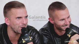 GRAMMY Pro Interview with Galantis at Lollapalooza 2015
