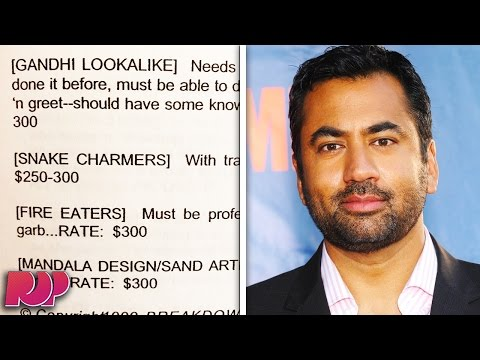 Kal Penn Shares Some Of The Racist Roles Hollywood Has Offered Him