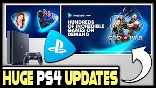Huge Ps4 Updates Revealed - Playstation Now Is Super Cheap!