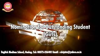 outstanding girls of c d o jain school gadag