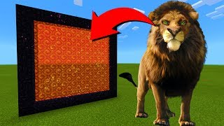 How To Make A Portal To The Lion King Dimension in Minecraft!