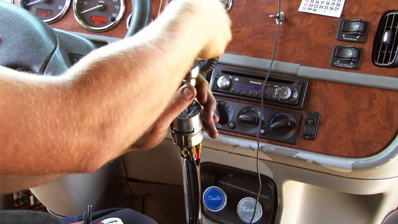 How To Install A Gear Shift Knob For A 13  U0026 18 Speed