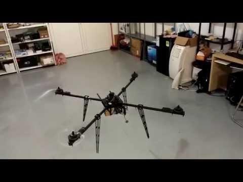 77 min flight time large quadcopter