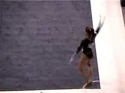 Kristina Baskett Floor (2006 NCAA Nationals)