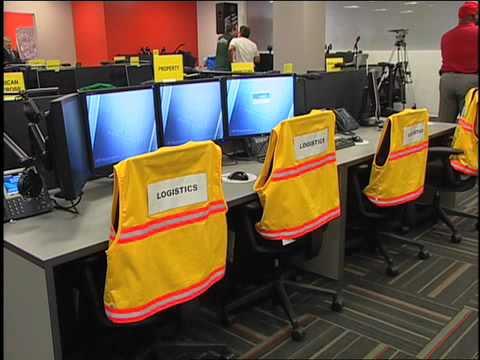 Airport Response Coordination Center (ARCC) Dedication