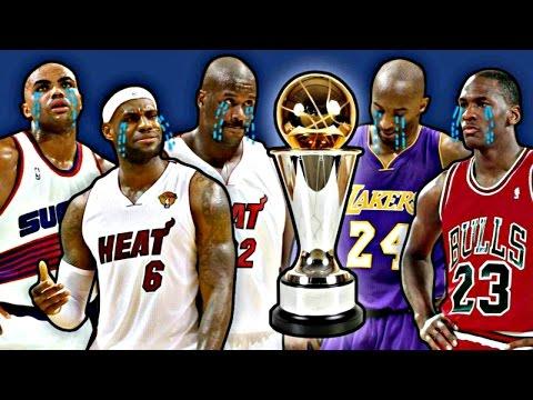 10 Biggest NBA MVP Snubs HD