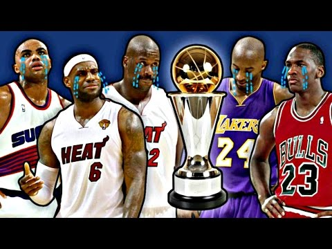 10 Biggest NBA MVP Snubs HD