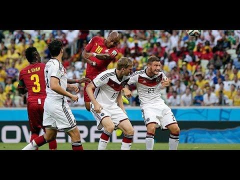 Germany vs Ghana 2-2 All Goals & Full Highlights World Cup 2014 Almanya 2-2 Gana Maçın Özeti