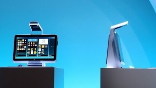 hp introduces the quirky sprout all in one computer with a built in projector 3d scanner