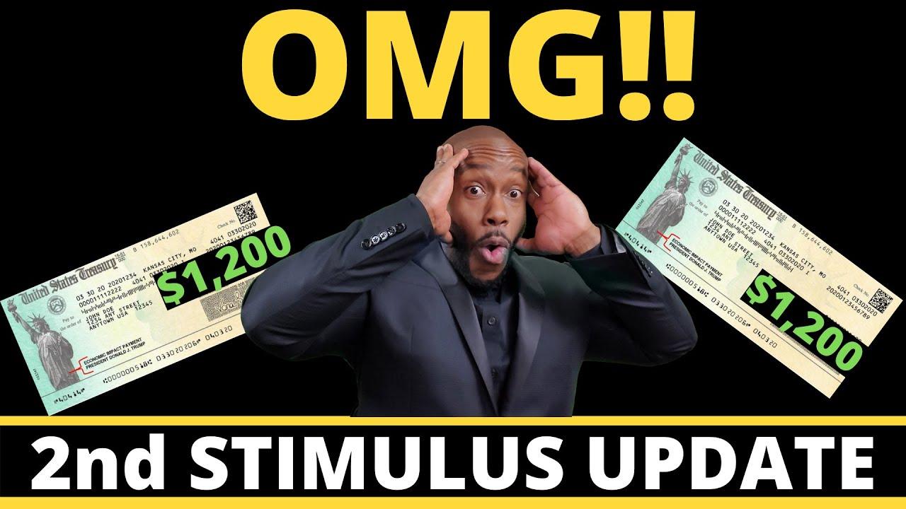 $1200 STIMULUS CHECKS NOW!! Second Stimulus Check Update + SSI SSDI