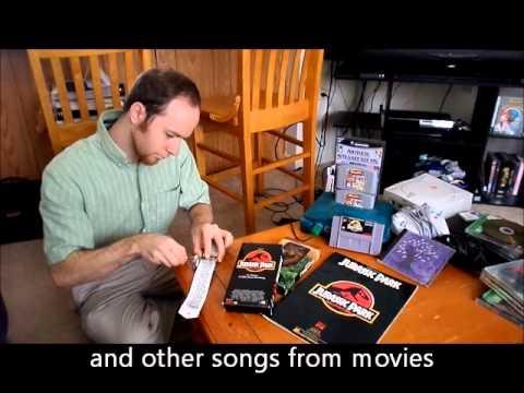 Jurassic Park Music Box