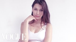 Bella Hadid Gets Romantic